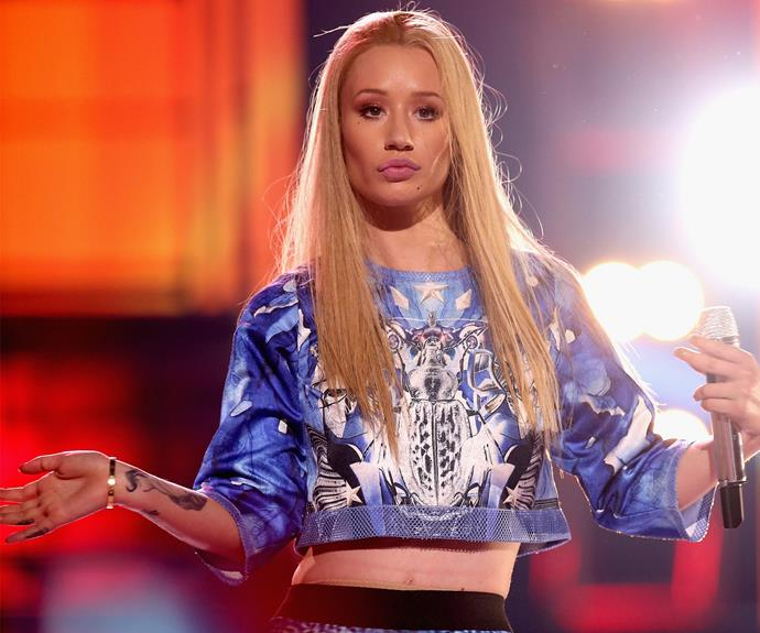 **Iggy Azalea = Amethyst Amelia Kelly.** Iggy might like to sing Fancy, but the Aussie rapper opted for a shorter name. Her updated moniker is a combination of her childhood dog and street name.