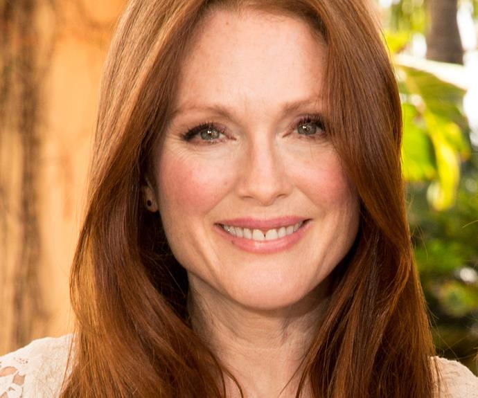 """**Julianne Moore = Julie Anne Smith.** ''There was already a Julie Smith, a Julie Anne Smith, there was everything. My father's middle name is Moore; my mother's name is Anne. So I just slammed the Anne onto the Julie. That way, I could use both of their names and not hurt anyone's feelings. But it's horrible to change your name. I'd been Julie Smith my whole life, and I didn't want to change it,"""" the actress explained to the *New York Times*."""