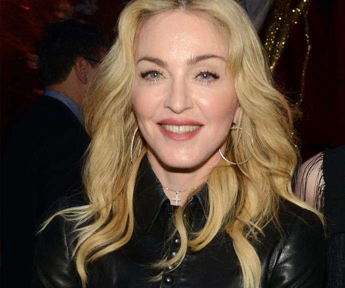 **Madonna = Madonna Louise Ciccone.** Madonna was born with a pretty vogue name and became the icon that she is by dropping it to just the one name.