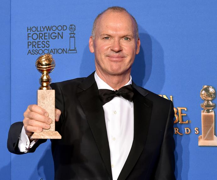 **Michael Keaton = Michael Douglas.** When Michael Keaton accepted his best actor Golden Globe for *Birdman*, he told the crowd his birth name was actually Michael Douglas. The 63-year-old actor changed his name early in his career to avoid confusion with the actor of the same name and TV host Mike Douglas.