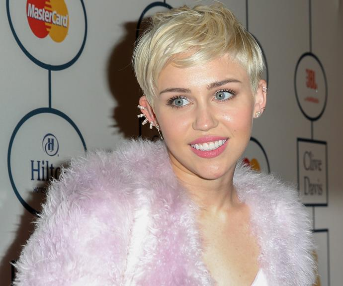 """**Miley Cyrus = Destiny Hope Cyrus**: Miley's father Billy Ray gave her the nickname """"Smiley"""" to match her cheery persona. She changed her name legally in 2008."""