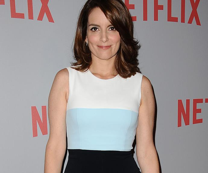 **Tina Fey = Elizabeth Stamatina Fey.** Drawing inspiration from real life, Tina Fey shares the name of her *30 Rock* Liz Lemon character. Her stage name is just a shortened version of her middle name.