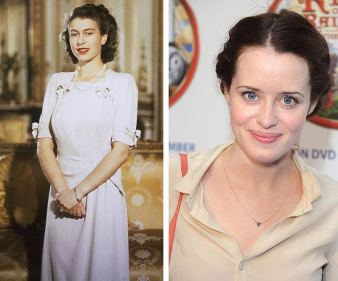 British actress Claire Foy will step into the royal shoes to play the young monarch.