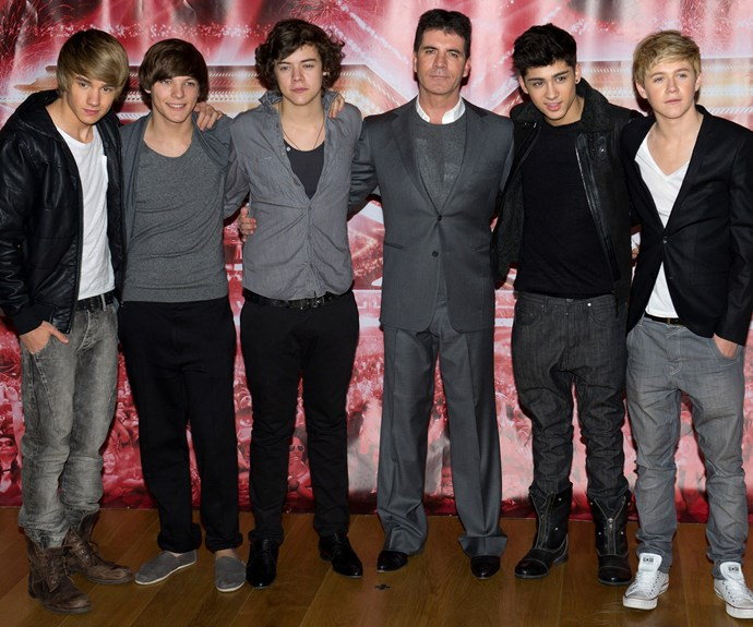 Where it all began... One Direction during their X-Factor days.