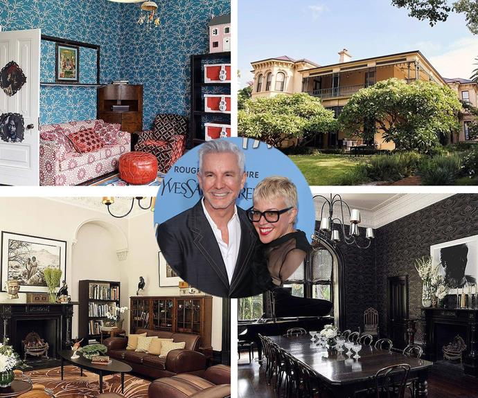 Baz Luhrmann doesn't just have vision for creating a great film... The Australian director and wife, Catherine Martin have made a breathtaking home for his family in the leafy streets of Darlinghurst. [*Domain*](http://m.domain.com.au/listing/2012100518?sp=1&adtype=premiumplus) recently listed the property for sale, asking for an expression of interest. 1880s Italianate manor screams luxury from the moment you step inside the Gatsby inspired entrance... It's safe to assume we are VERY interested.