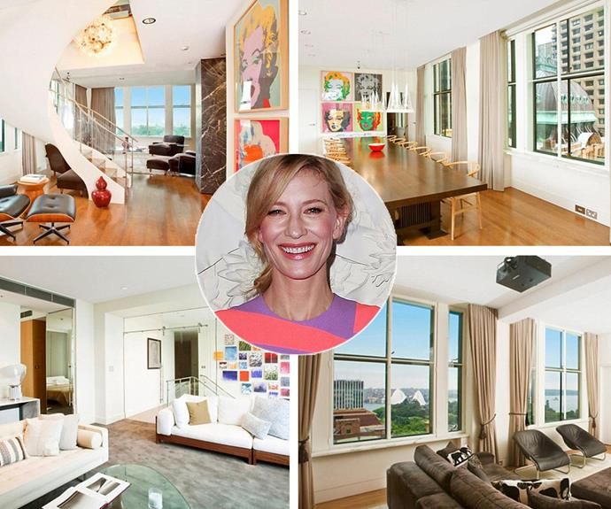 The Oscar-winner isn't completely severing her ties to the country. Cate and Andrew purchased a multi-million city crash pad in Sydney's CBD - with a reported price tag of $8 million.