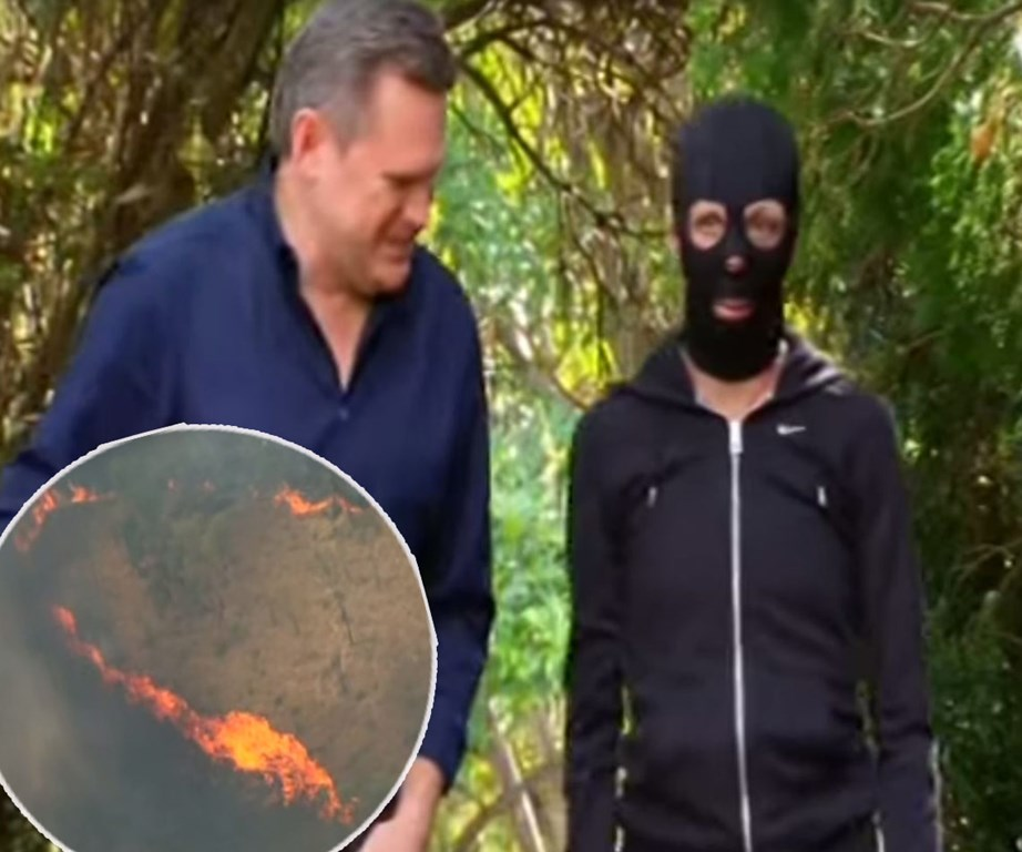 Following the catastrophic 2011 fire, Turia, pictured with *60 Minutes*' Michael Usher, has undergone extensive surgery but refuses to be labelled a victim.