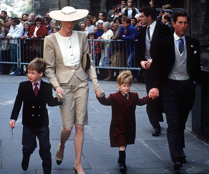 "No matter what was happening in Diana's personal life, her number one priority was always to love her family. ""Hugs can do great amounts of good – especially for children,"" Diana revealed."