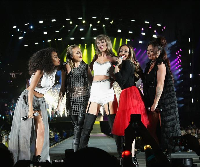 Tay salutes British band Little Mix.