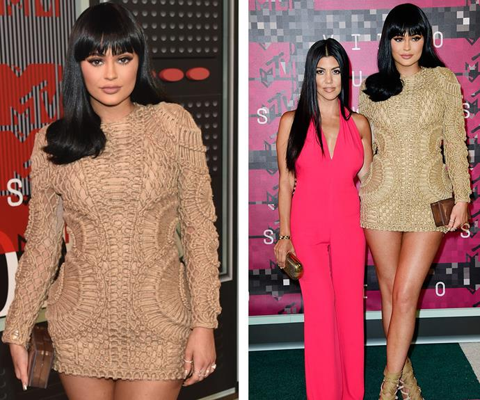 The budding beauty entrepreneur was joined by her older sister [Kourtney Kardashian,](http://www.womansday.com.au/style-beauty/fashion/kourtney-kardashians-revenge-wardrobe-13341) 36, at the event.