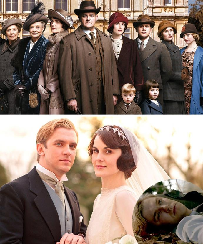 Downton Abbey has been a roller-coaster of emotions. We're still recovering from the loss of Dan Steven's Matthew. We can only imagine how exciting (and emotional) the final season will be!