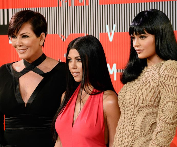 The Kardashian/Jenner clan were out in full force at the event, no doubt to support [Kanye West's Presidential bid!](http://www.womansday.com.au/celebrity/hollywood-stars/kanye-west-announces-presidential-bid-at-mtv-vmas-13528)