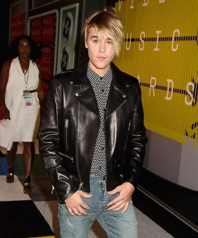 The panel were asked to review Justin Bieber's new look at the MTV VMAs.