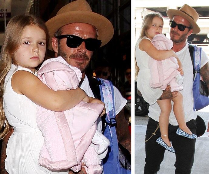 Victoria Beckham might be the Queen of this family, but Harper is next in-line to the throne! Isn't she breath-taking?