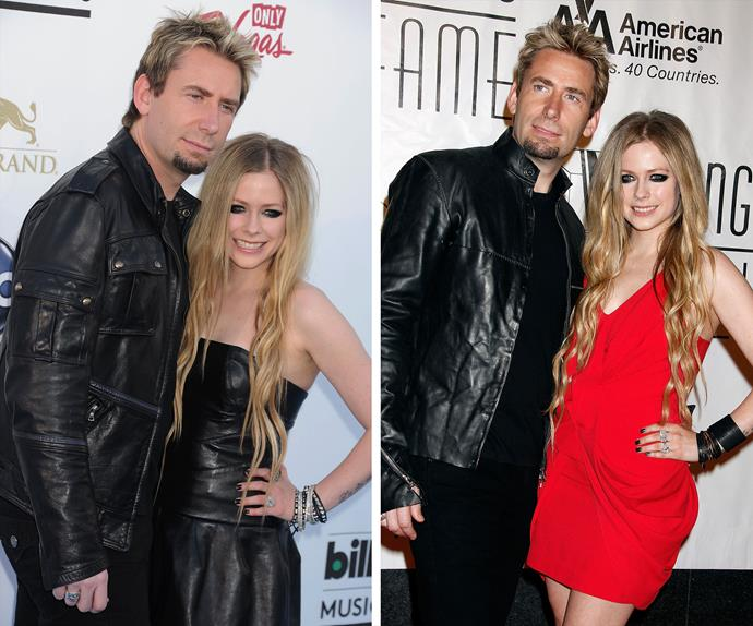 """Avril Lavigne, 30 and Nickelback front man Chad Kroeger, 40 announced they are splitting after two years of marriage. In a post on Instagram the *Complicated* singer revealed, """"It is with heavy heart that Chad and I announce our separation today. Through not only the marriage, but the music as well, we've created many unforgettable moments. We are still, and forever will be, the best of friends, and will always care deeply for each other."""""""
