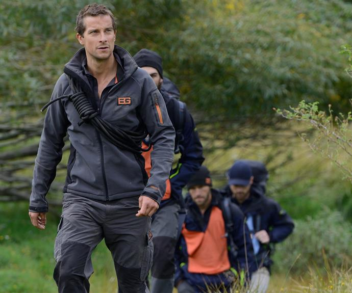 For those of you not familiar with Bear Grylls, he is a real life action hero, writer and television presenter for his survival shows: *Running Wild with Bear Grylls*.