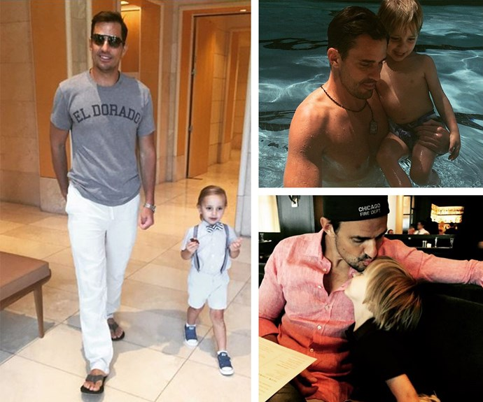Giuliana Rancic's hubby Bill is the doting dad to four-year-old Duke. The pair are all kinds of fashionable.