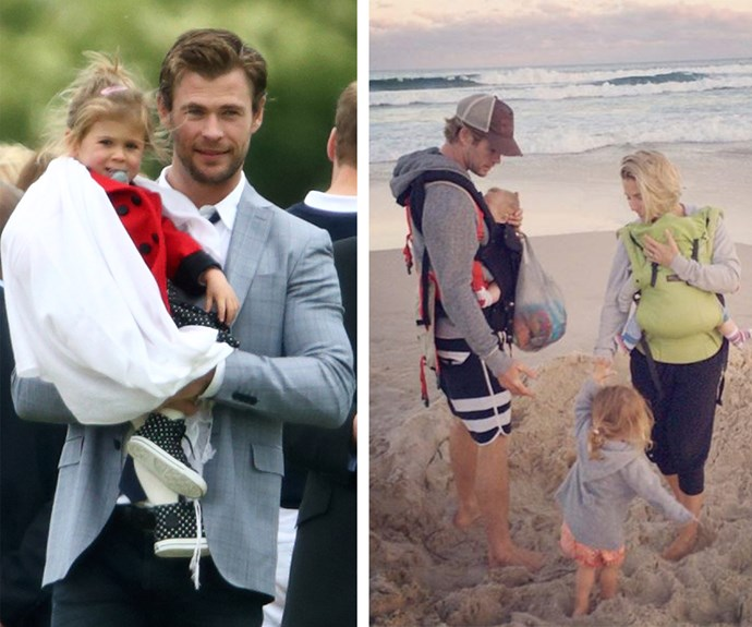 "When he's not a superhero, Chris Hemsworth is a marvelous dad to daughter India and twin boys, Sasha and Tristan. The refreshingly honest dad, who once described being a dad as ""the most exciting thing he has ever done"" joked to Ellen that travelling with little ones isn't so glamorous. ""We actually flew from Australia to London the other day, and door-to-door it's about a 30-hour trip. It was kind of like the trip from hell!"" The 33-year-old laughed."