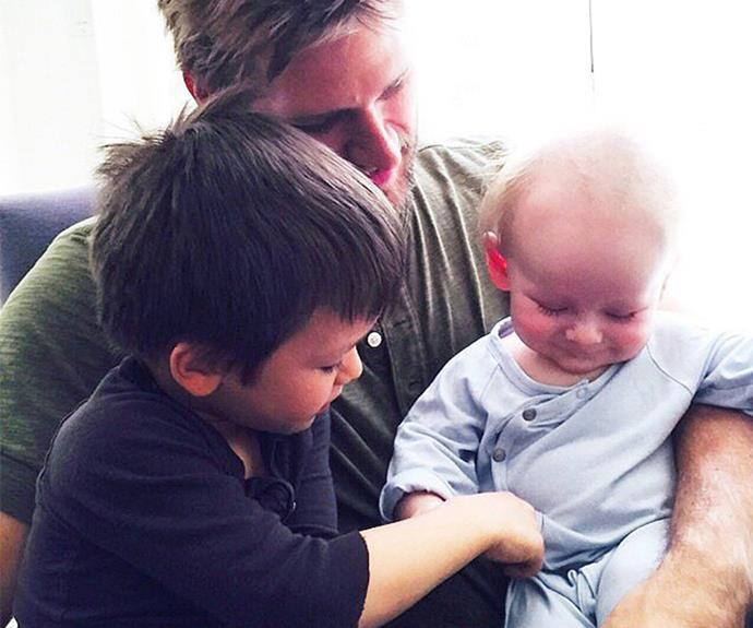 Curtis Stone is dad to his darling boys, Hudson and Emerson.