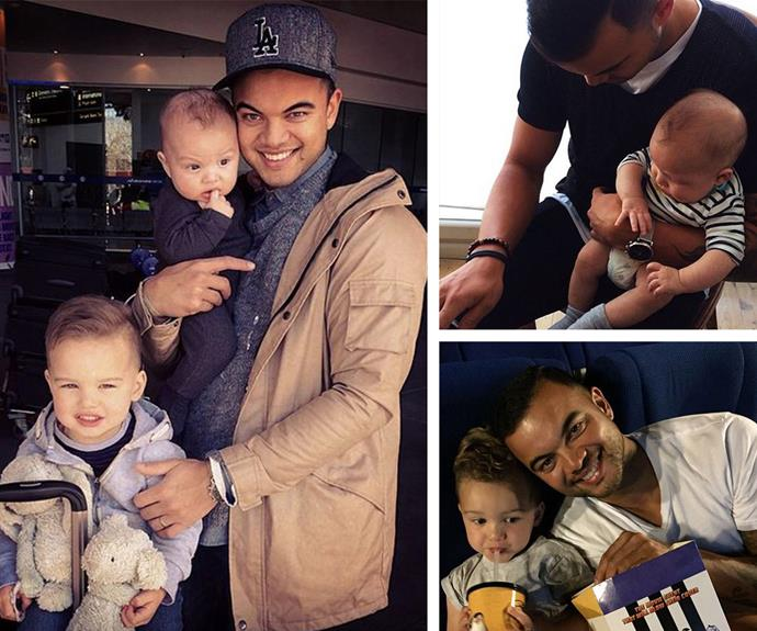 Guy Sebastian has two of the cutest little boys, Hudson and Archer.