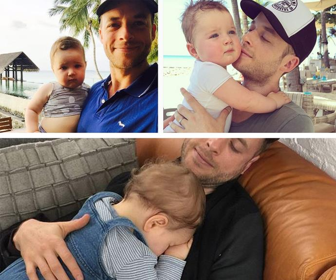 "Who can ever get enough of Hamish and Sonny Blake? After his son's birth, Hamish admitted: ""It is all the cliched things they tell you. I've been crying, I just can't get enough of just holding him. It is the craziest most magical thing."""