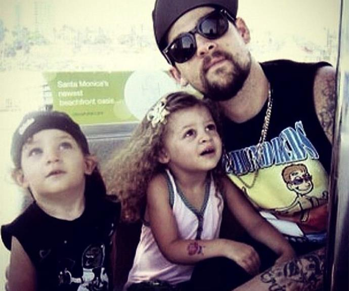 Joel Madden is one cool dad to Harlow and Sparrow.