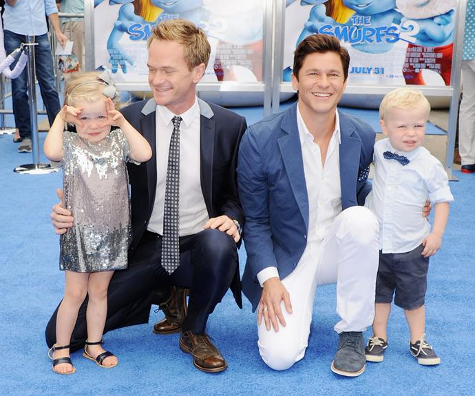 Neil Patrick Harris and hubby David Burtka are the proud papas to five-year-old twins Harper Grace Burtka-Harris and Gideon Scott Burtka-Harris.