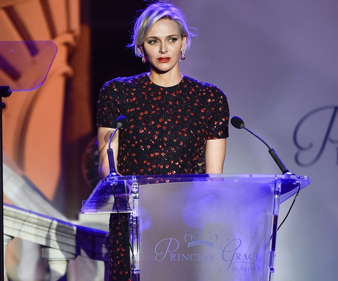 Recently, the former South African swimmer has shown the world a new side of her, as Charlene has been coming out of her shell and [delivering several moving speeches.](http://www.womansday.com.au/royals/international-royals/prince-albert-celebrates-10-years-as-the-monarch-of-monaco-13108)