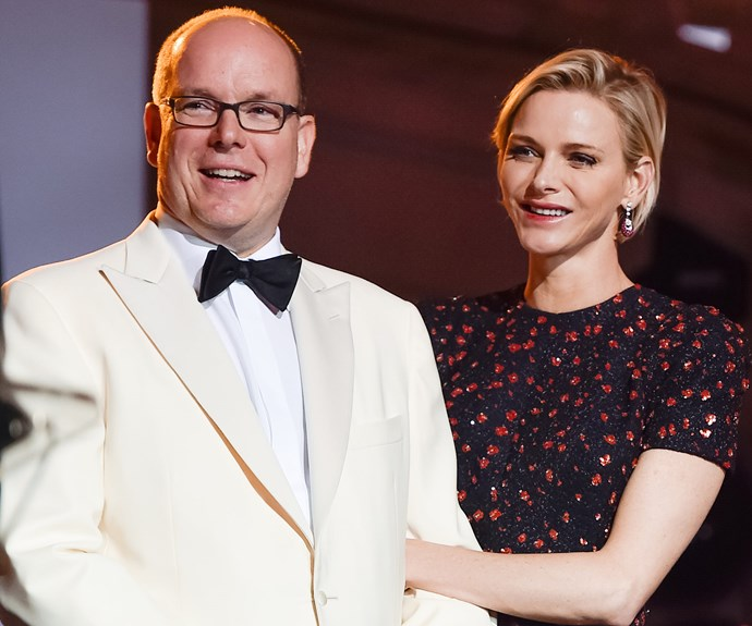 The royal couple, [who welcomed twins last year,](http://www.womansday.com.au/royals/international-royals/princess-charlene-of-monaco-is-radiant-at-her-twins-christening-12506) couldn't contain their PDA as they watched on.