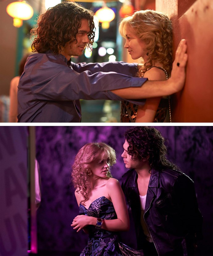 Sam showcased her acting chops when she portrayed pop princess, Kylie Minogue in the telemovie, *INXS: Never Tear Us Apart*