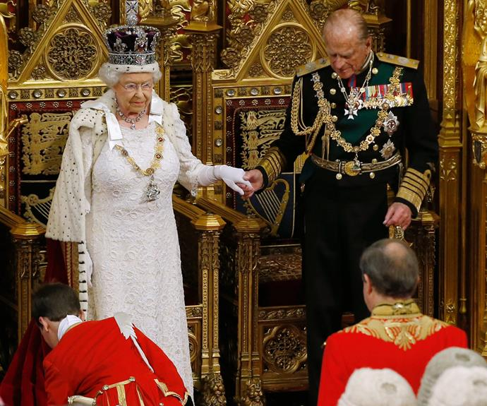 """Or standing by her side, Philip has always been there. It is the Prince's utter devotion to his wife that has been a backbone to their incredible partnership. """"My job first, second and last is never to let the Queen down,"""" he has sweetly said."""