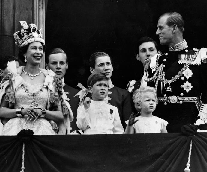 Queen Elizabeth's coronation ceremony took place on June 2, 1953 - she was just 27 years old.