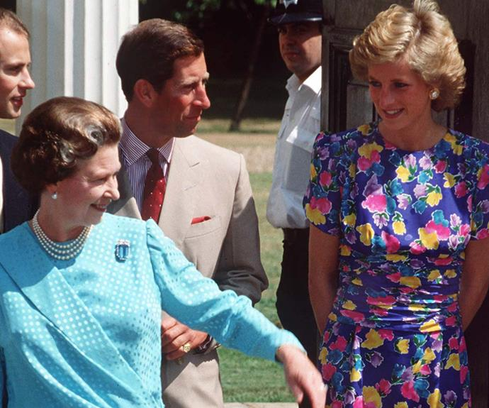 """Despite their [fractured relationship,](http://www.womansday.com.au/royals/british-royal-family/complex-relationship-between-the-queen-and-princess-diana-13413) the Queen loved Princess Diana. After her tragic death in 1997, Elizabeth addressed the world: """"She was an exceptional and gifted human being. In good times and bad, she never lost her capacity to smile and laugh, nor to inspire others with her warmth and kindness. I admired and respected her - for her energy and commitment to others, and especially for her devotion to her two boys."""""""