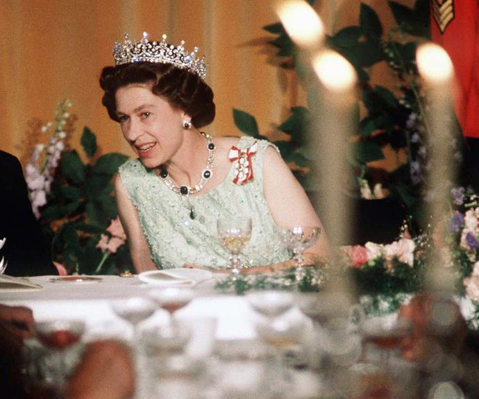 A woman of many talents... The Queen speaks fluent French and often uses the language for audiences and state visits.