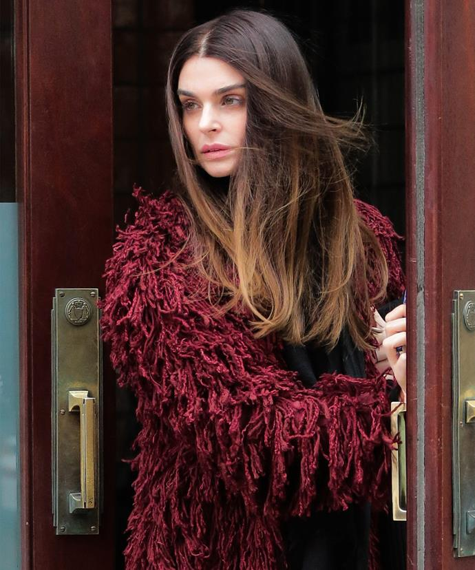 Aimee today. The eldest Osbourne has spoken out about her decision to not feature on her family's famed reality show.