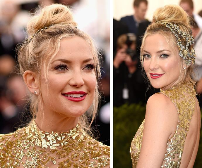 Kate Hudson gives us the perfect demonstration of bejeweling EVERYTHING is always the answer.