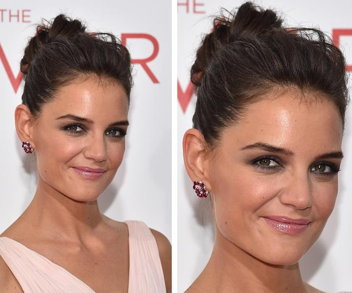 Katie Holmes punks it up and we love it!