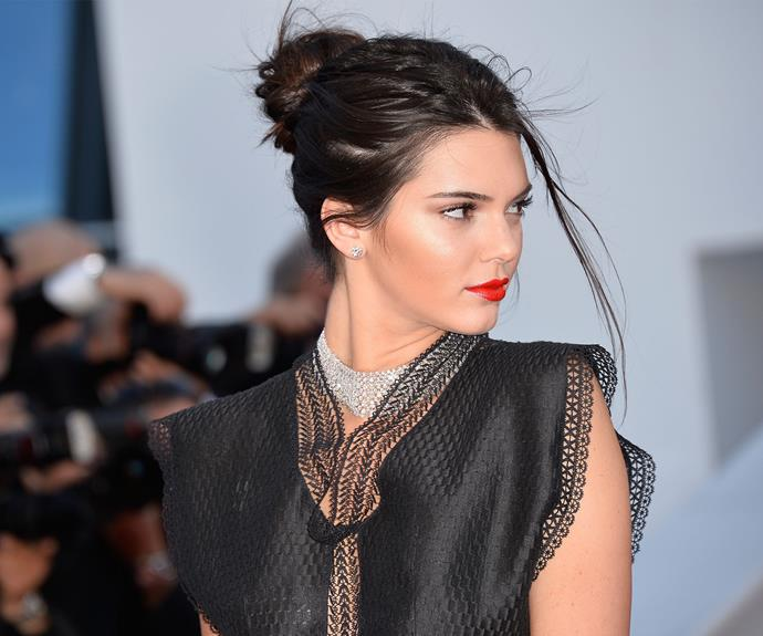 Kendall takes a cue for big sis, Kim and shows how to channel *Gone with the Wind* fabulous.