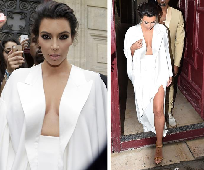 [Keeping up with Kim Kardashian's](http://www.womansday.com.au/style-beauty/beauty/kim-kardashian-hair-is-back-to-black-11967) wind swept locks isn't as hard it looks and it works great with slightly dirty hair.