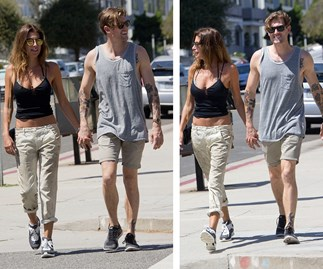 Jodhi Meares and Nick Finn