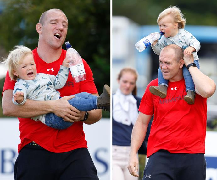 What a handful! Mia Tindall may not have a royal tittle but she certainly acts like a true Princess!