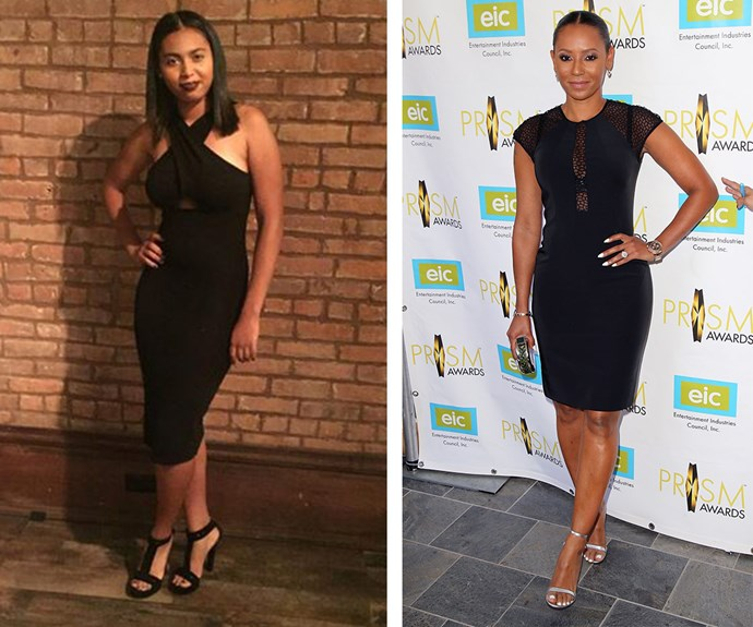 Total twins! Mel B's 16-year-old daughter Phoenix Chi looks a lot like her popstar mother.