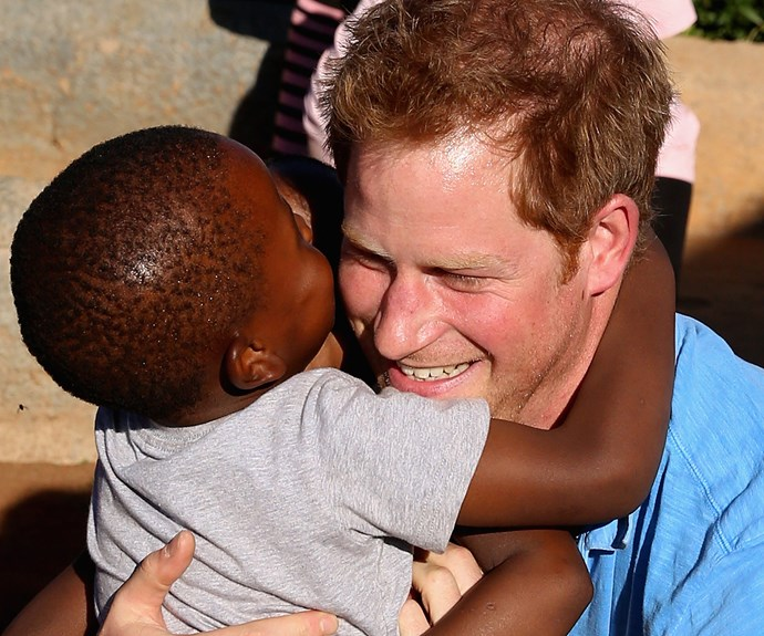 He may have been born into royalty, but the good-natured Brit loves to help others. Over the past decade, he has breathed life into his mother's legacy, continuing her charitable efforts.