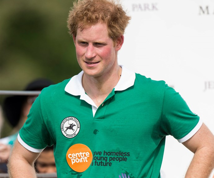 Who doesn't love a sporty bloke? In fact polo Harry is one of our personal favourites.