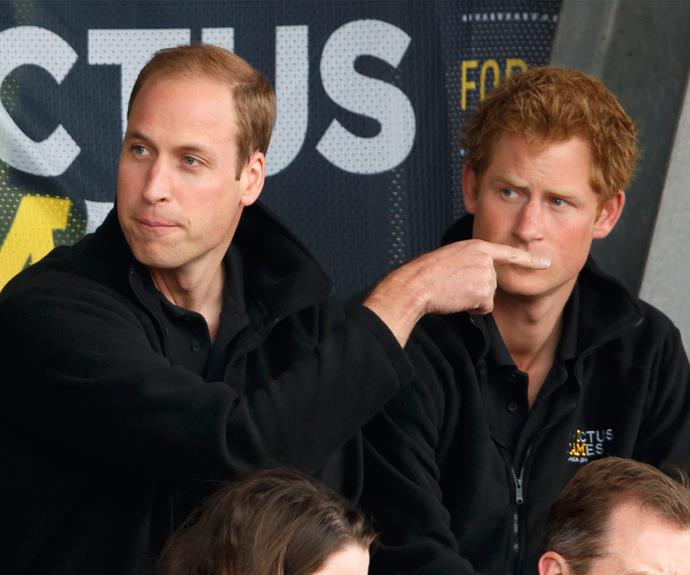 "In 2009 Harry declared, ""[William has] definitely got more brains than me, I think we've established that from school. But I'm much better hands on."""
