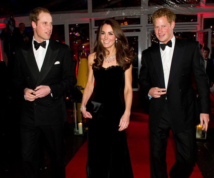 "At the time of William's wedding, Harry revealed, ""To have a big sister is very, very nice...She's a fantastic girl, she really is, my brother is very lucky."""