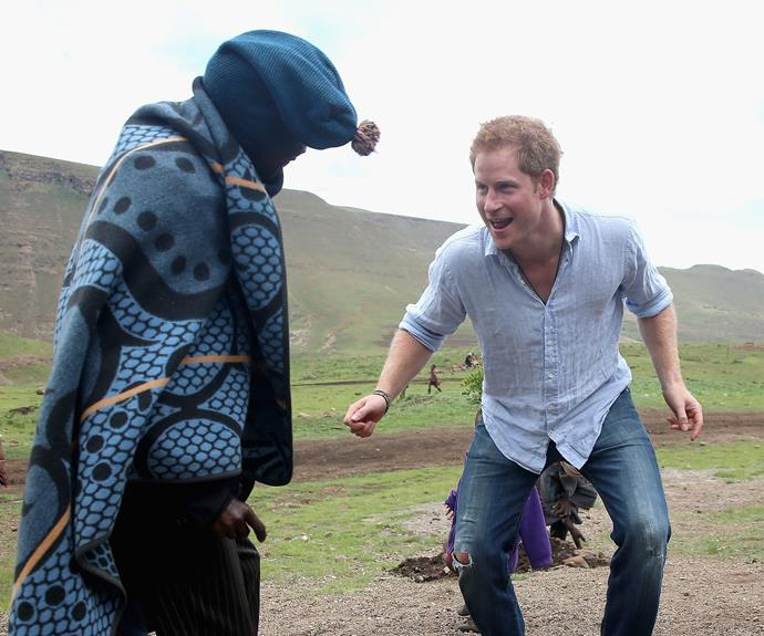 "Africa holds a special place in Harry's heart. In 2007 he mused about what life would be like if he wasn't a royal, saying, ""I don't know how well this would get on, but I'd probably live in Africa. I'd like to spend all my time out there... As a job it would probably be a safari guide."""