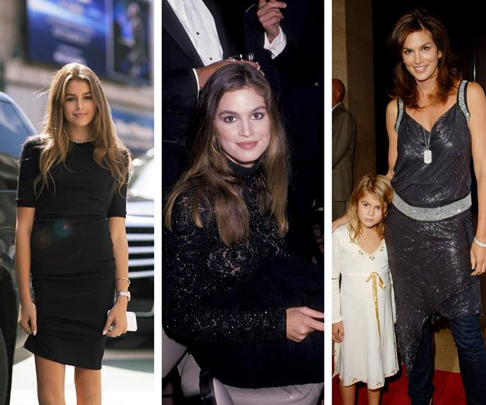 The teen has blossomed into a mini Cindy Crawford and we expect we'll huge things from her!