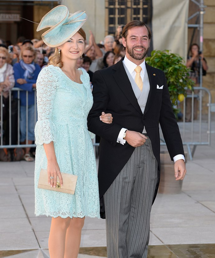 Grand Duke Guillaume and Grand Duchess Stéphanie of Luxembourg.