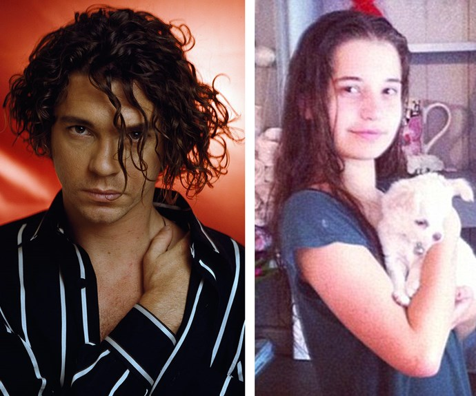 A striking resemblance: Tiger was only 16 months old when her father and INXS star Michael Hutchence passed away from a suspected suicide in November 1997.